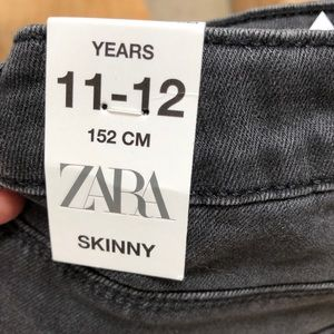 Zara Kids 11-12 years skinny black jeans